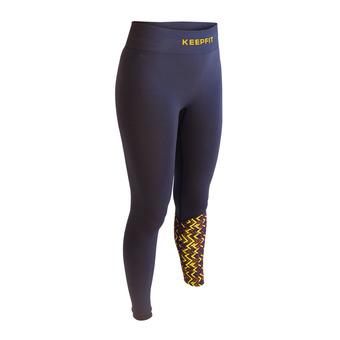 Bv Sport KEEPFIT LIMITED - Legging Femme bleu/jaune