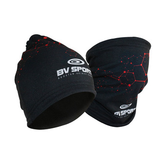 Bv Sport MULTIFONCTION BVS - Gorro black/red