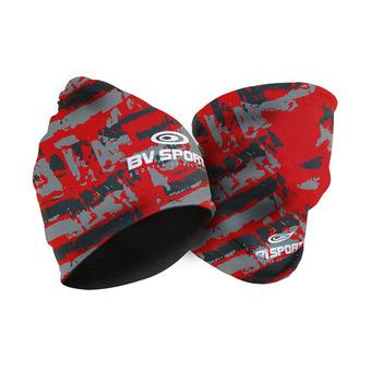 Bv Sport MULTIFONCTION ARMY - Gorro black/red