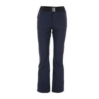 Pantalón de esquí mujer SAPPORO blue black