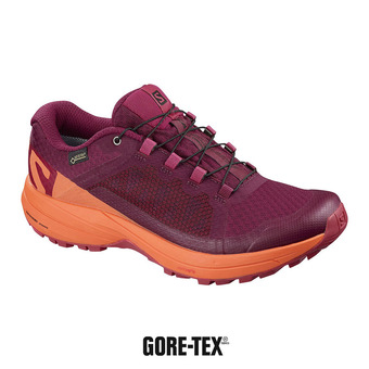 Salomon XA ELEVATE GTX - Zapatillas de trail mujer beet red/nastur