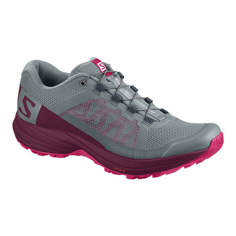 Zapatillas trail mujer XA ELEVATE le/beet red/virtual p