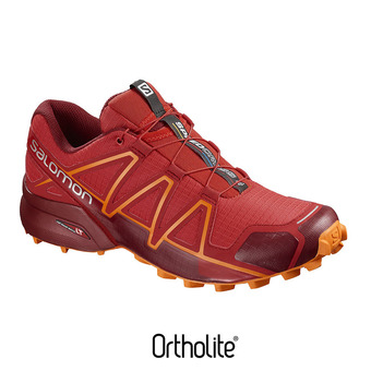 Zapatillas trail hombre SPEEDCROSS 4 risk/red dahlia