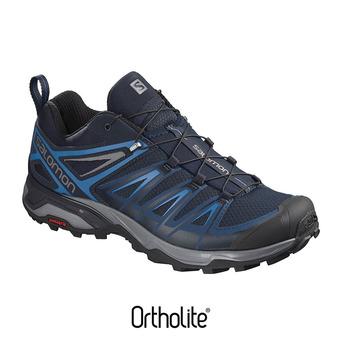 Zapatillas de senderismo hombre X ULTRA 3 poseidon/indigo bun/quie