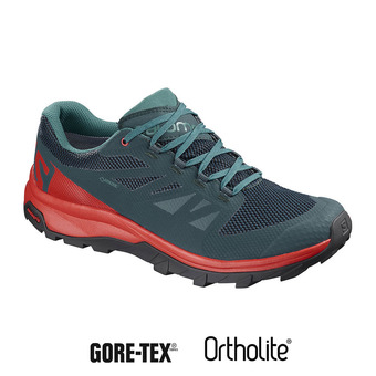 Salomon OUTLINE GTX - Chaussures randonnée Homme reflecting/high risk