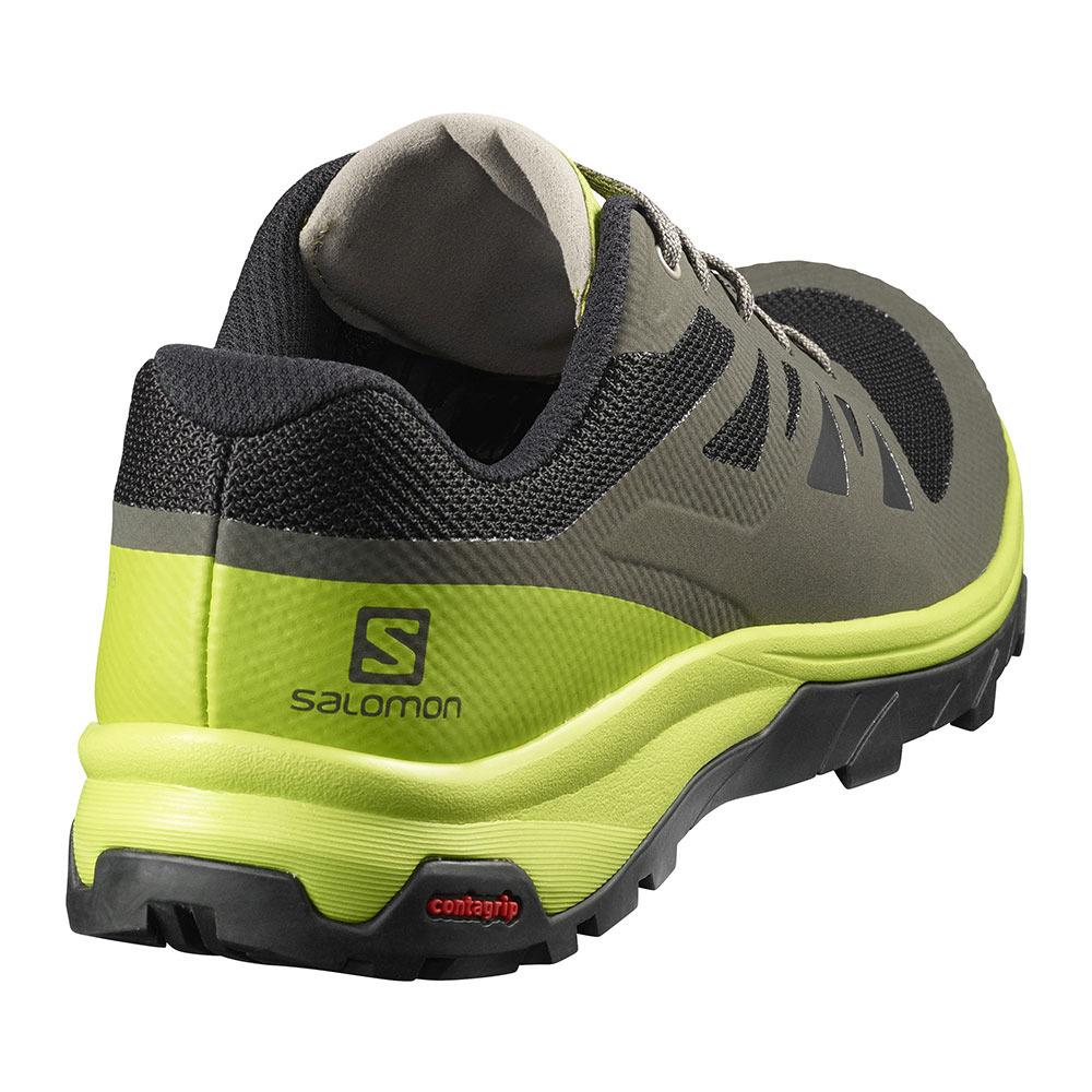 Salomon Randonnée Homme Outline Chaussures Belugalime Green qUMzVSpG