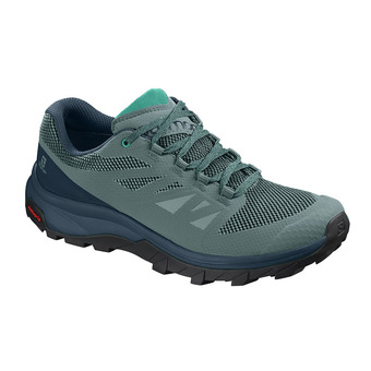 Salomon OUTLINE - Hiking Shoes - Women's - trellis/reflecting/atlan