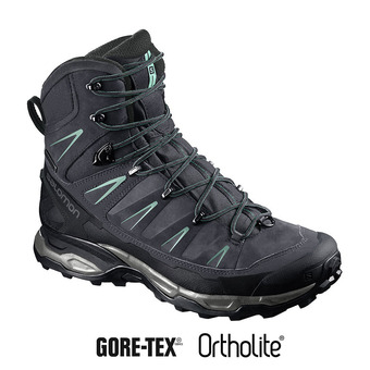 Zapatillas de senderismo mujer X ULTRA TREK GTX® gy/bk/beach gl