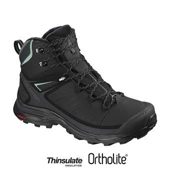 Zapatillas de senderismo mujer X ULTRA MID WINTER CS WP bk/pha