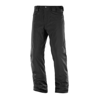Salomon ICEMANIA - Pantalón de esquí hombre black