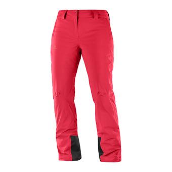 Pantalon de ski femme ICEMANIA hibiscus