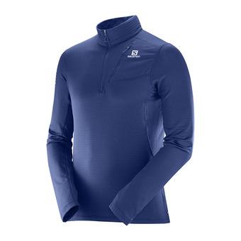Camiseta térmica hombre GRID HZ medieval blue