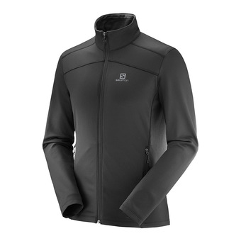 Salomon DISCOVERY - Polaire Homme black