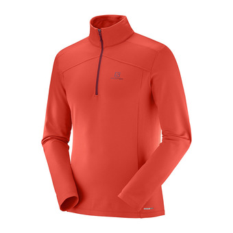 Camiseta térmica hombre DISCOVERY LT HZ fiery red