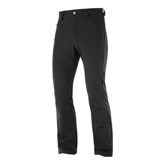 Salomon WAYFARER WARM STRAIGHT - Pantalón hombre black