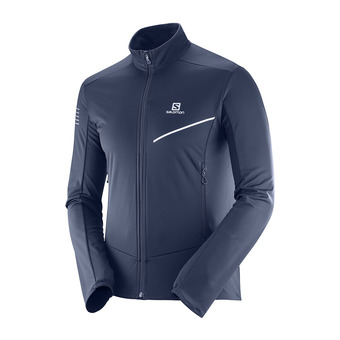 Chaqueta de esquí nórdico SoftShell hombre RS SOFTSHELL night sky