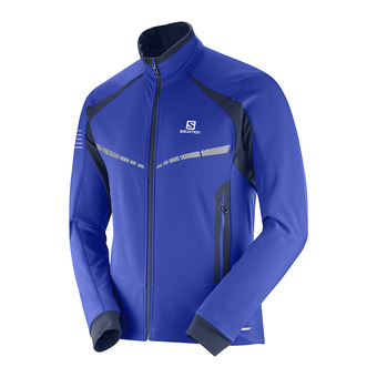 Salomon RS WARM - Chaqueta de esquí hombre surf the w/night