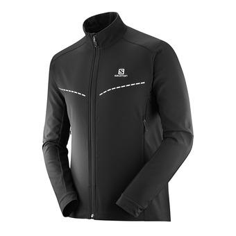 Veste de ski nordique SoftShell homme AGILE SOFTSHELL black