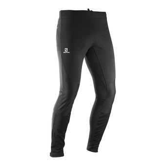 Salomon AGILE SOFTSHELL - Tights - Men's - black