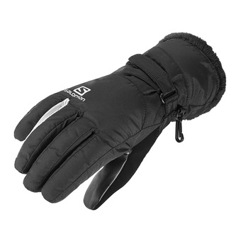 Salomon FORCE DRY - Gloves - Women's - black/white