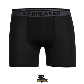 Icebreaker ANATOMICA - Bóxer hombre black/monsoon