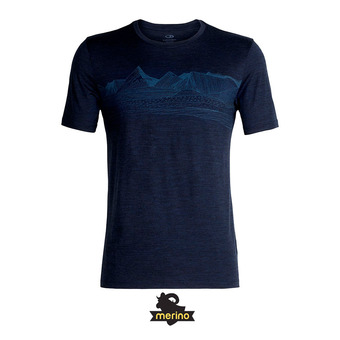 Camiseta hombre TECH LITE dk night hthr