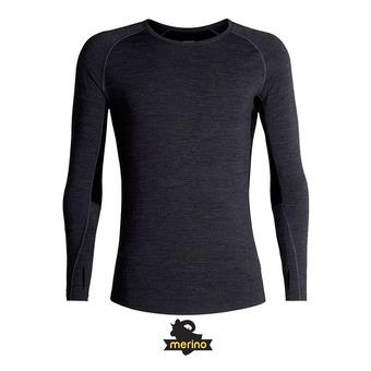 Icebreaker 200 ZONE - Camiseta térmica hombre jet hthr/black/mineral
