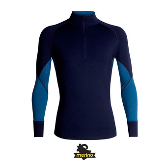 Camiseta térmica hombre ZONE granite blue/prussian blue