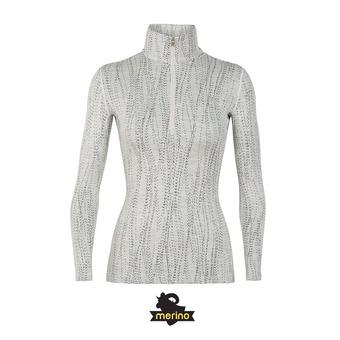 Camiseta térmica mujer VERTEX snow/black