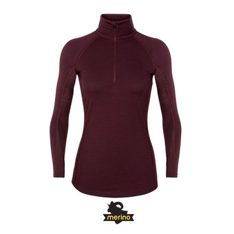 Camiseta térmica mujer ZONE velvet/prism