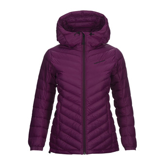 Anorak mujer FROST blood cherry