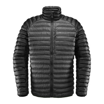 Haglofs ESSENS MIMIC - Anorak hombre magnetite/true black