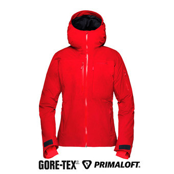 Chaqueta Gore-Tex® mujer LOFOTEN INSULATED jester red