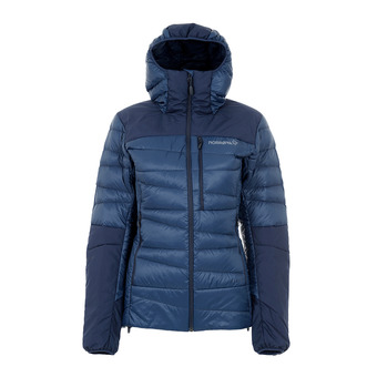 Jacket - Women's - FALKETIND DOWN indigo night