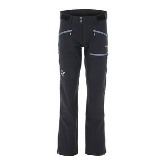 Norrona FALKETIND HYBRID - Pantalon Femme caviar