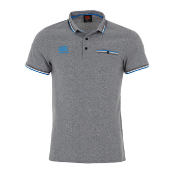 Canterbury TIPPED POCKET - Polo hombre static marl