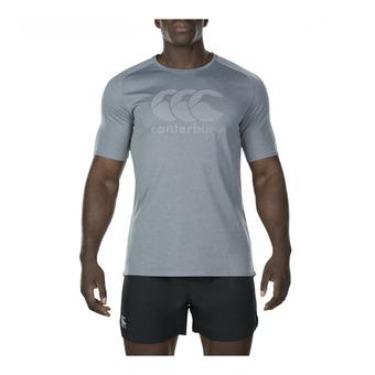 Camiseta hombre CORE VAPODRI POLY LARGE LOGO static marl