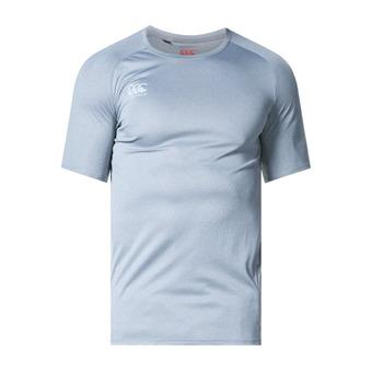 Camiseta hombre CORE VAPODRU SUPERLIGHT POLY SMALL LOGO static marl