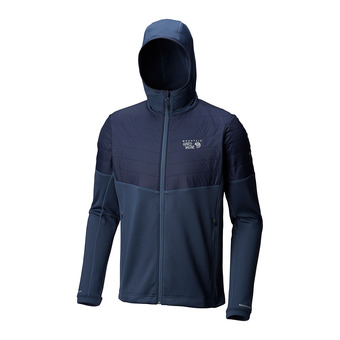 Mountain Hardwear 32 DEGREE - Sweat Homme zinc