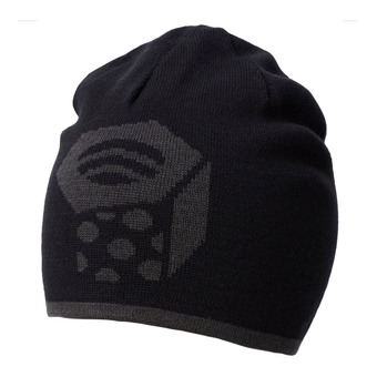 Mountain Hardwear DOME - Bonnet réversible black/shark