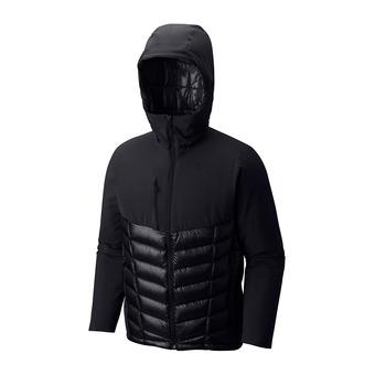 Doudoune à capuche homme SUPERCHARGER™ black