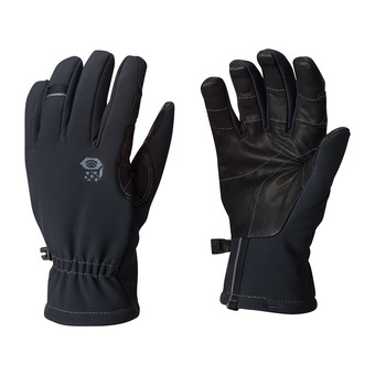 Mountain Hardwear TORSION - Guantes mujer black