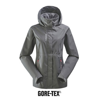 Chaqueta mujer WAY GTX ZIP-IN carbone grey