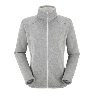 Polaire zippée femme CALI F-ZIP heather grey