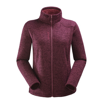 Polaire zippée femme CALI F-ZIP ruby red