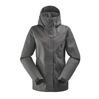 Chaqueta mujer TRACK ZIP-IN black
