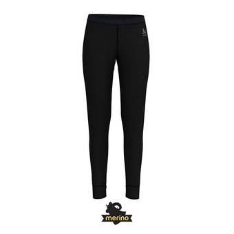 Mallas mujer NATURAL MERINO WARM black
