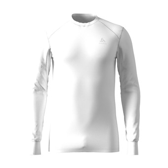 Odlo ACTIVE ORIGINALS WARM - Camiseta térmica hombre white