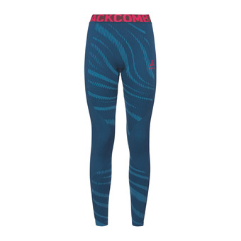 Odlo PERFORMANCE BLACKCOMB - Collant Femme poseidon/turkish tile/diva pink