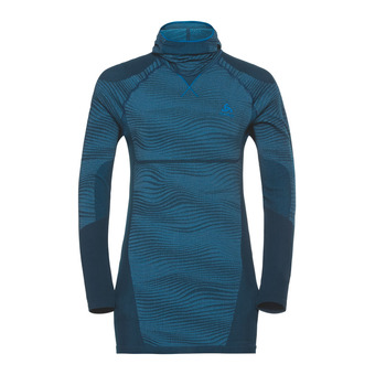 Odlo PERFORMANCE BLACKCOMB - Camiseta térmica hombre poseidon/blue jewel/atomic blue